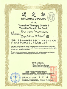Yumeiho International Grade 3
