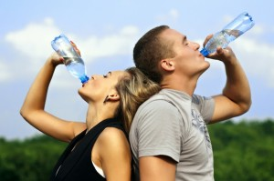Secrets of water.And weight loss